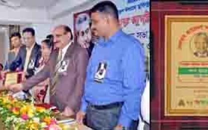 Dalit has achieved Nelson Mandela award