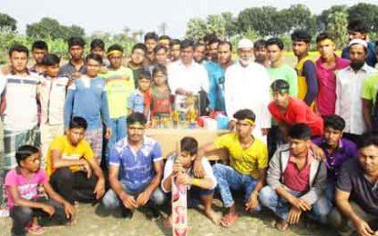 ঝিনাইদহের মথুরাপুরে জমকালো আয়োজনে ২০১৭-ক্রিকেটলীগ খেলা সম্পন্ন