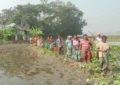 গোপালগঞ্জের কোটালীপাড়ায় কলাবাড়ী ইউনিয়নে একটি রাস্তার দাবি হাজারও মানুষের