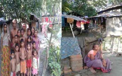 গোপালগঞ্জের কাশিয়ানীতে ভাল নেই ৫৮টি আদিবাসী পরিবার
